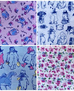 Pastel Paddington Furoshiki Gift Wrap