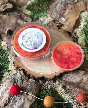 blood orange wax melt