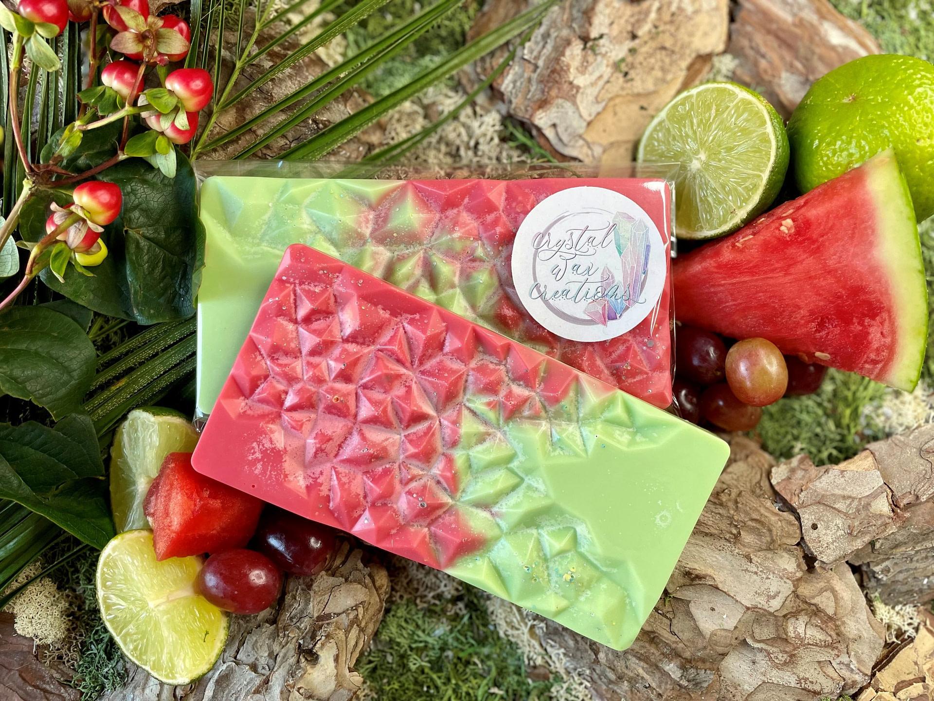 watermelon kiwi geode
